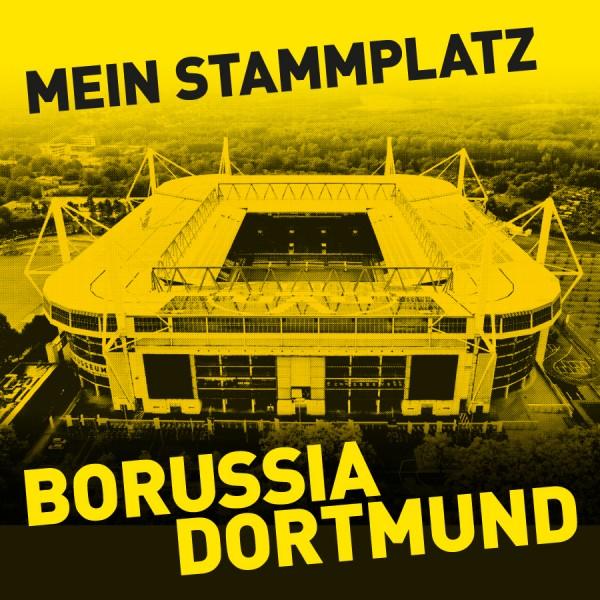 """BPB Motivplatte """"Mein Stammplatz"""""""